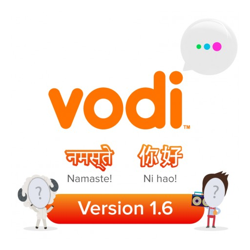 Vodi Releases Feature-Packed Version 1.6