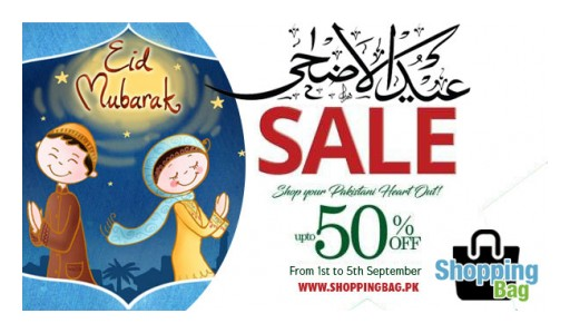 Eid-Ul-Azha 2017 Sale on Shoppingbag.pk