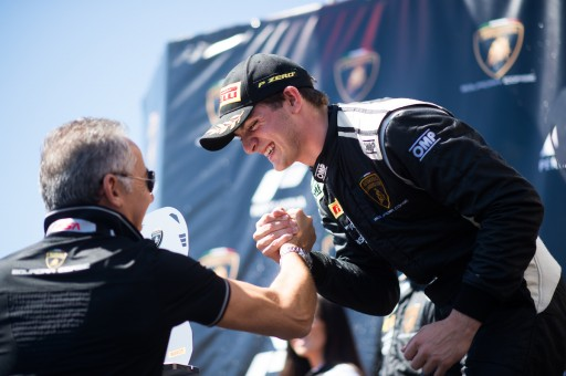 Versteeg Sweeps Laguna Seca in Final Round of Competition on US Soil for Lamborghini Super Trofeo North America