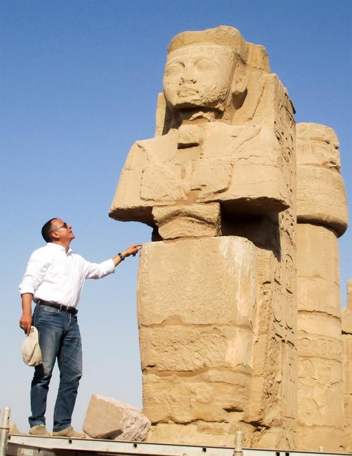 Egyptian Archaeologists Dig Up Mounds of Ancient Treasures - Press Release