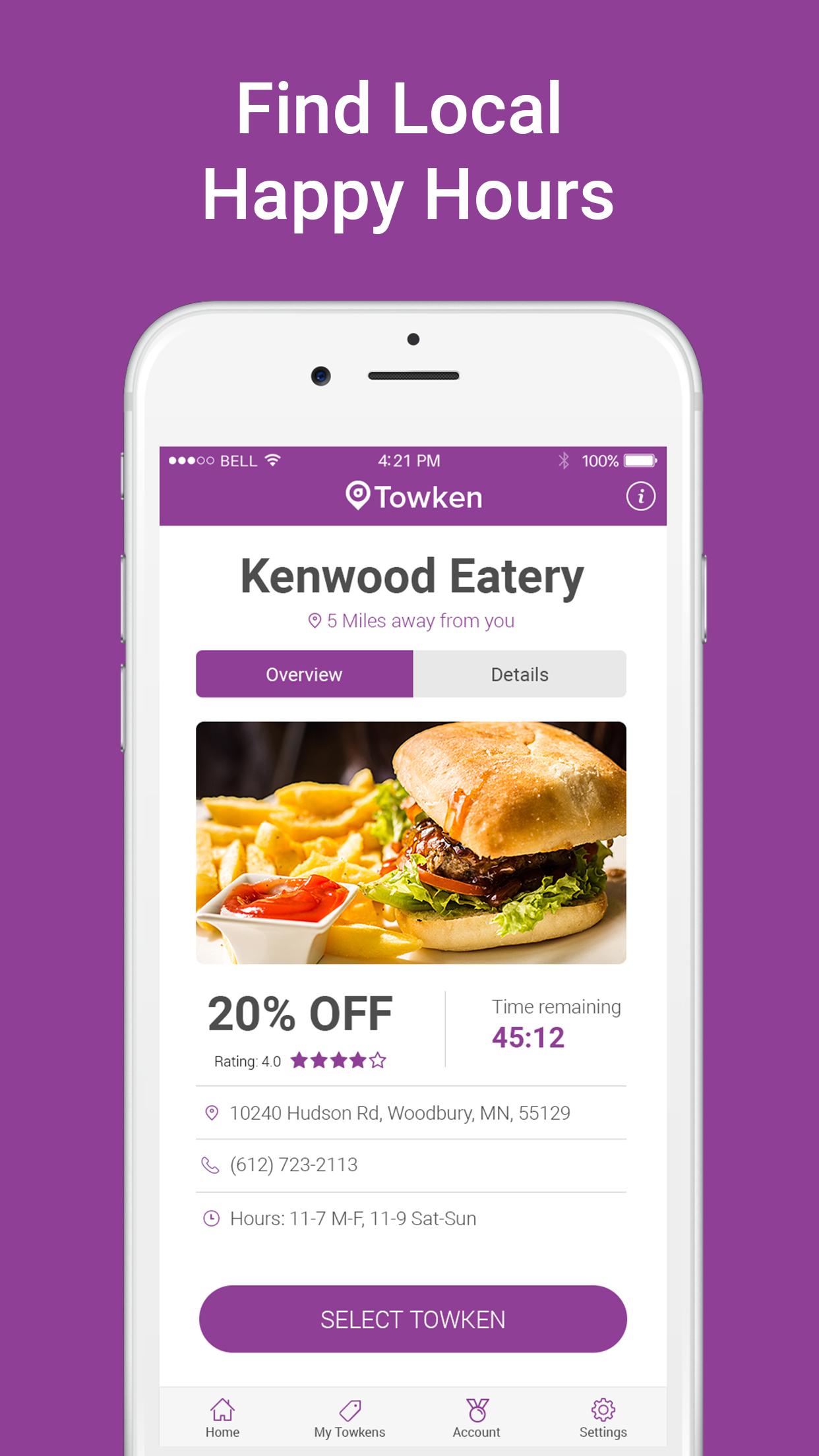 Find food deals app