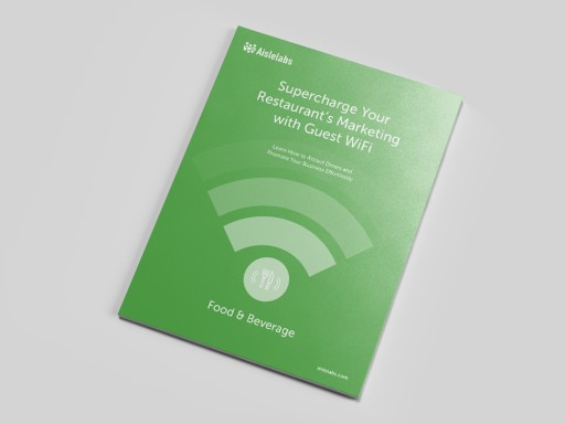 Aislelabs Releases WiFi Marketing How-to eBook for the Food and Beverage Industry