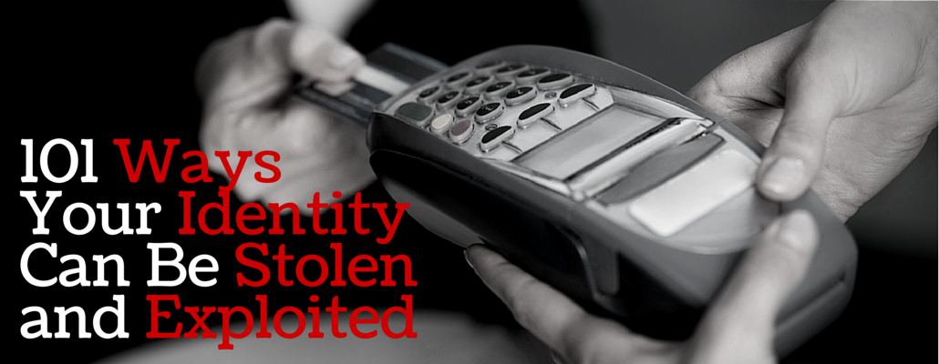 an essay on identity theft