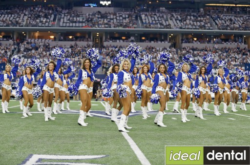 Ideal Dental Teams Up With America's Sweethearts - the Dallas Cowboys Cheerleaders