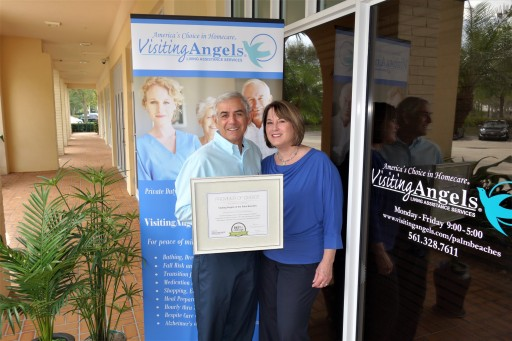 Visiting Angels Receives 2017 Best of Home Care Provider Award