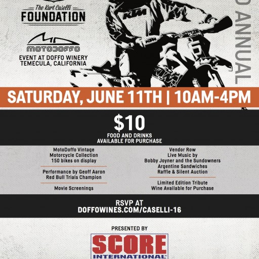 3rd Annual Kurt Caselli Foundation Benefit Event - a Good Time for a Good Cause