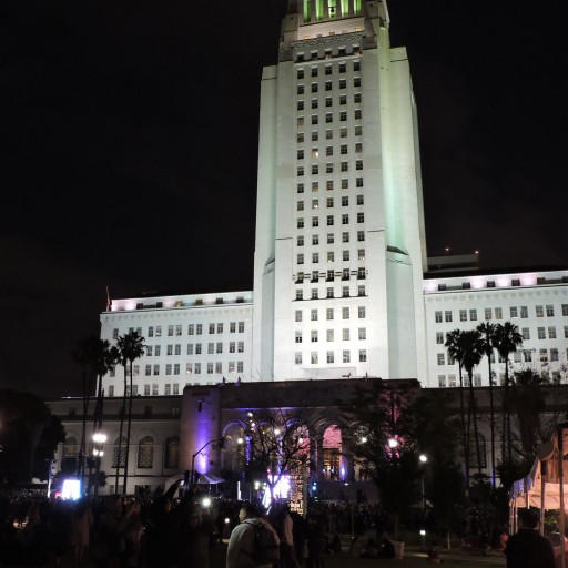 Music Festival at Los Angeles Grand Park Features Technical Production Specialists