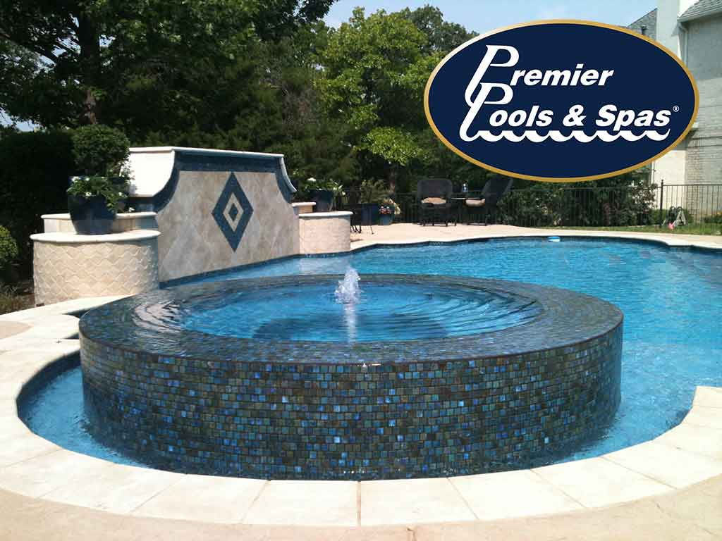Premier pools spas dallas location rated 1st in customer for Premier pools