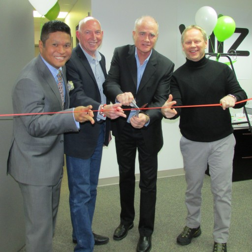 viiz Cuts the Ribbon at New Call Center in Calgary