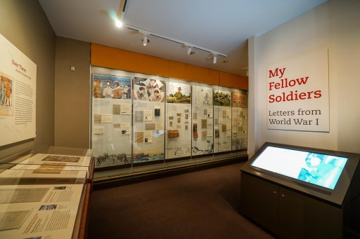 My Fellow Soldiers: Letters From World War I Opens at National Postal Museum