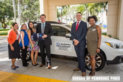 Subaru of Pembroke Pines Spreads Warmth to Cancer Patients in Local Communities for Second Consecutive Year in Collaboration With The Leukemia & Lymphoma Society (LLS)
