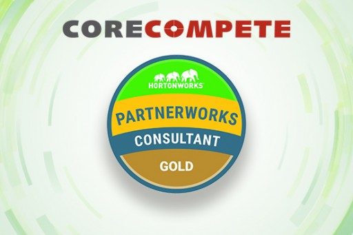 CoreCompete Achieves Gold Partner Status for Hortonworks