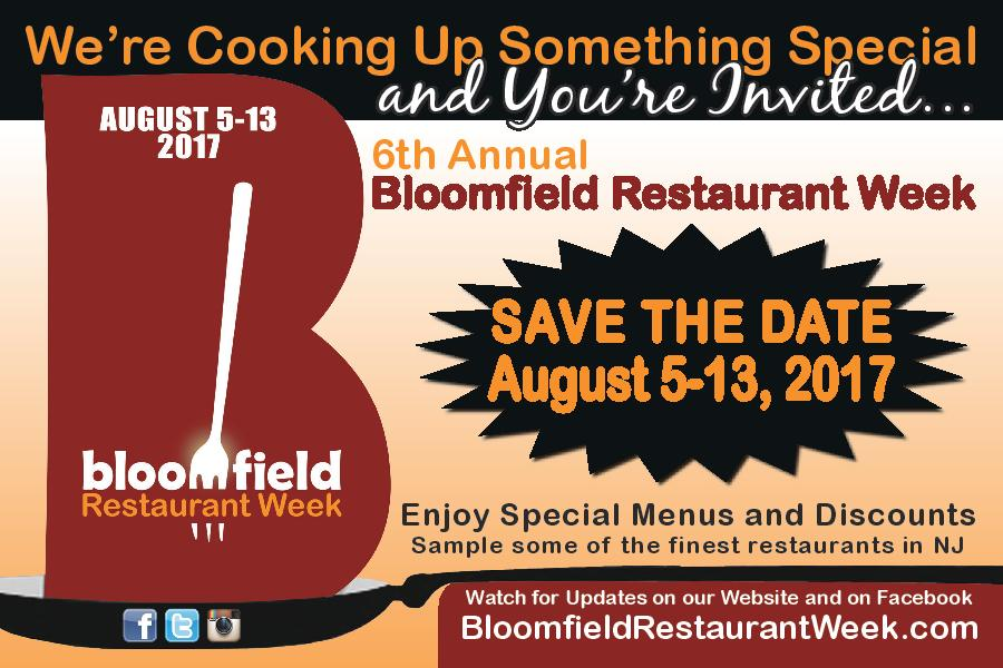Restaurant Week  Bloomfield Nj