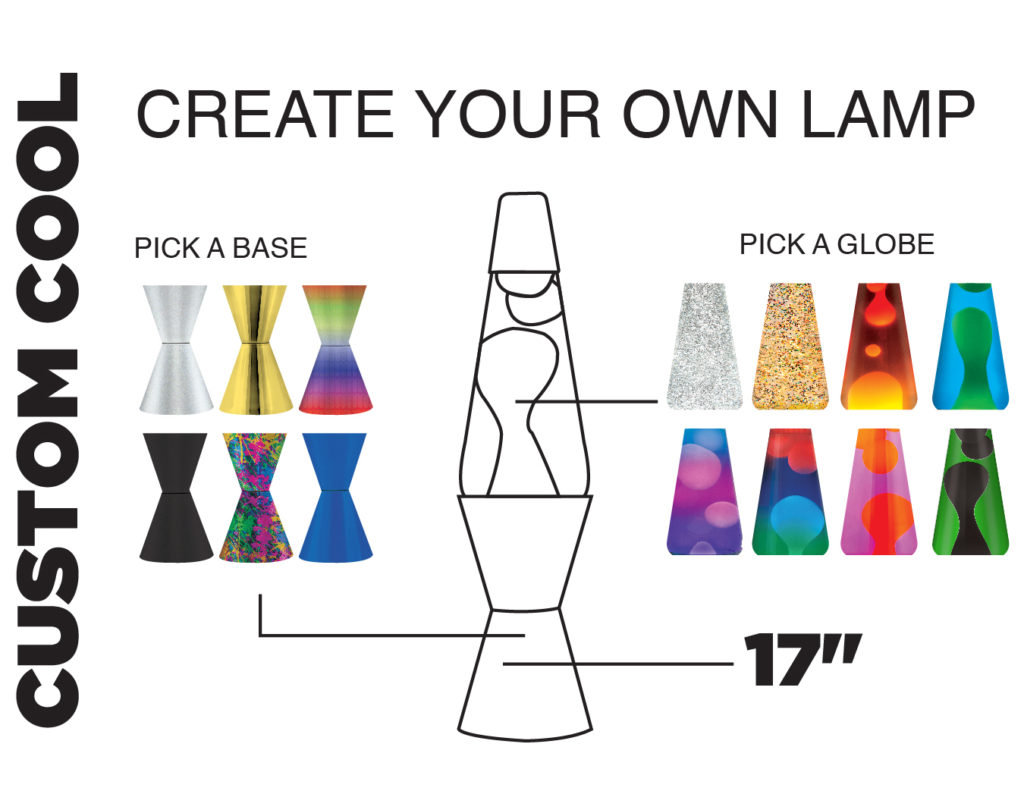 Design Your Own Lamp lifespan brands debuts design-your-own custom cool lava lamps