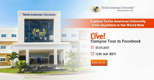 Texila American University Hosts a Campus Tour on Facebook Live