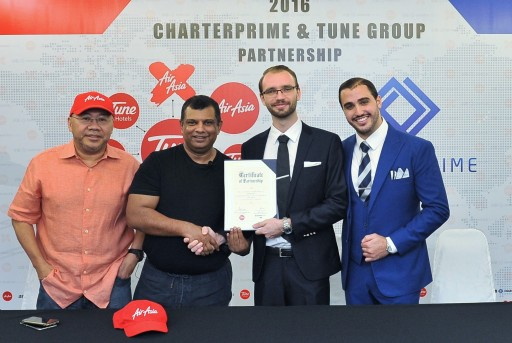 Tune Group and Charterprime Announce Official Strategic Partnership