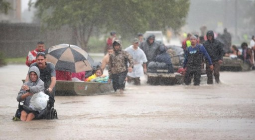 With Hurricane Harvey Bearing Down on Texas, Navy Lanier and Mobile Fuel Helping Rescue Efforts
