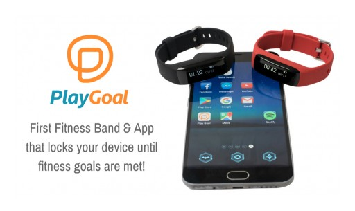 PlayGoal's Revolutionary Fitness Band Now Available on Kickstarter