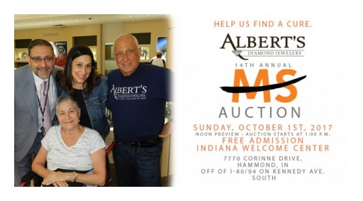 Albert's Diamond Jewelers Announce Pandora Buy More Save More Event and 14th Annual MS Auction