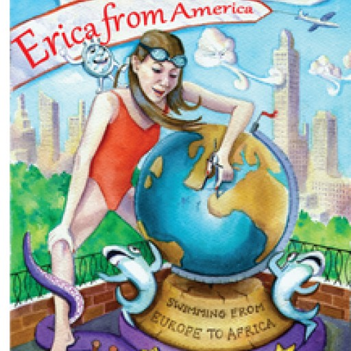 Triple Crown Open Water Swimmer & Author Visits & Inspires Kids at YWCA Princeton With Her New Book, 'Erica From America'