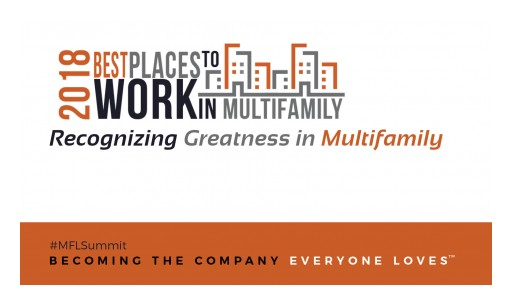National Best Places to Work Multifamily™ Rankings Announced