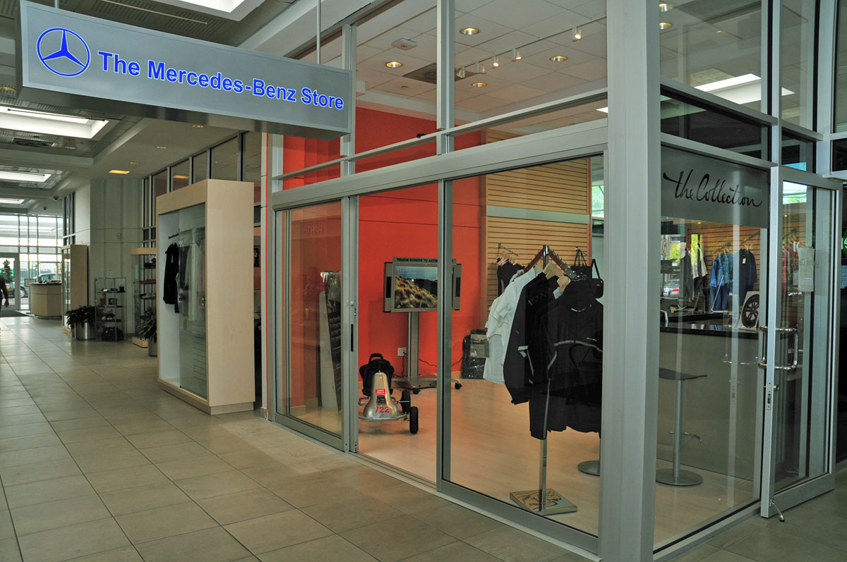ooh la la the euro mercedes benz accessory store is open