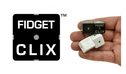 FIDGET CLIX Introduces a Revolutionary New Hand Held Device That Makes Your Day a Little Easier.