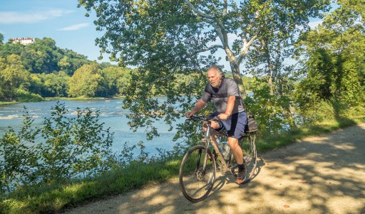 Lung Cancer Survivor Rides 700 Miles Along Allegheny Trail and C&O Canal by Bike to Raise Funds for Medical Center Where He Was Successfully Treated
