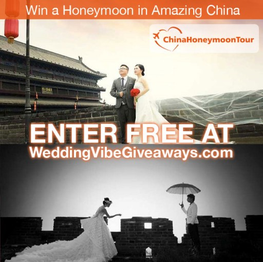 ChinaHoneymoonTour.com Partners With Weddingvibe for a China Honeymoon Giveaway