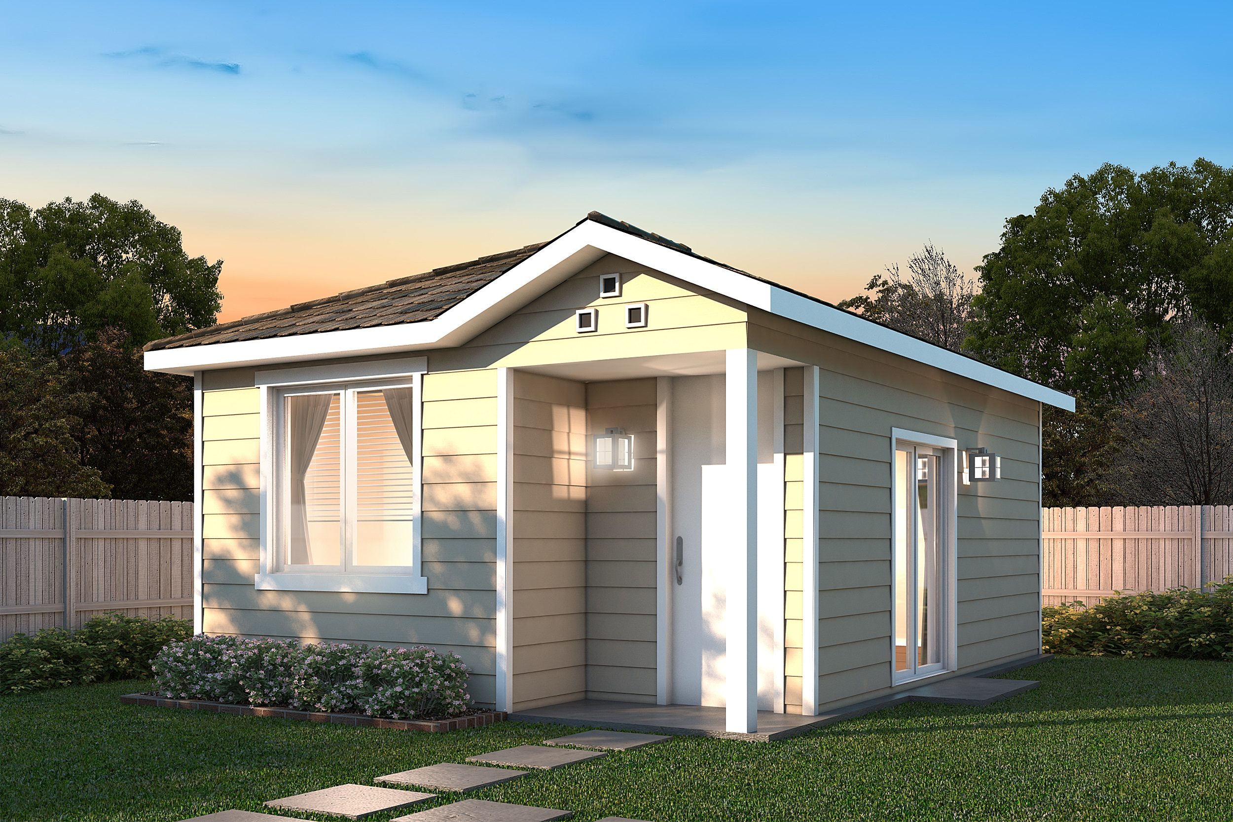 G j gardner homes debuts 10 new granny flat designs for Modular granny flat california