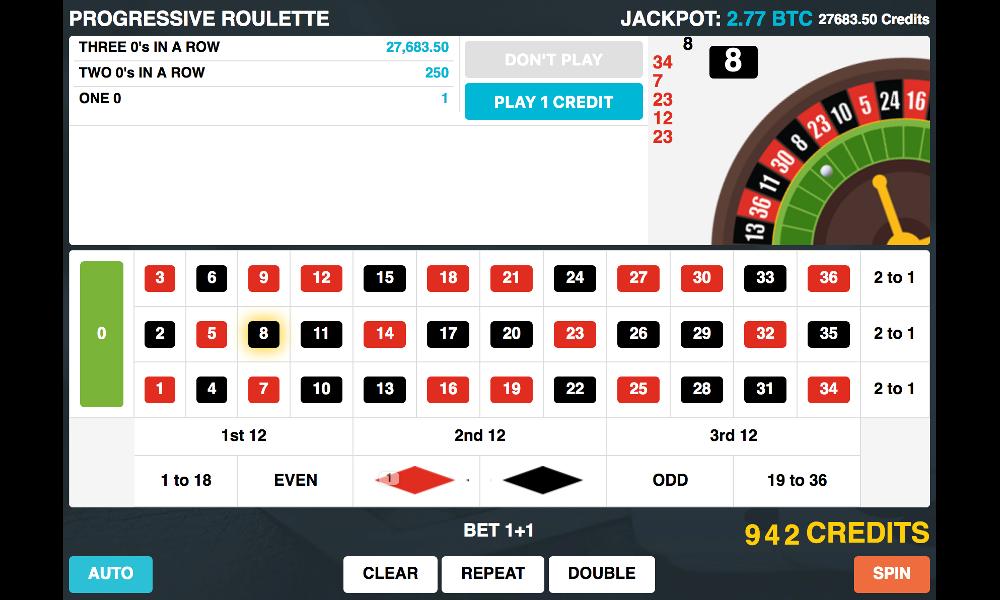 Casino jackpot press release