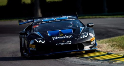 Versteeg Takes First Overall Super Trofeo Victory in Chaotic Race 2 at VIRginia International Raceway