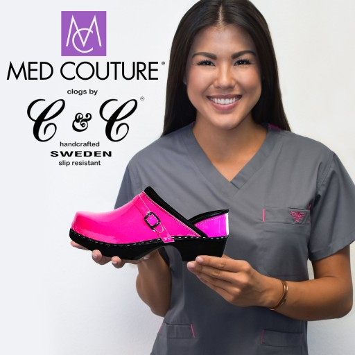 Clogs by C&C SWEDEN Teams Up With Med Couture Scrubs
