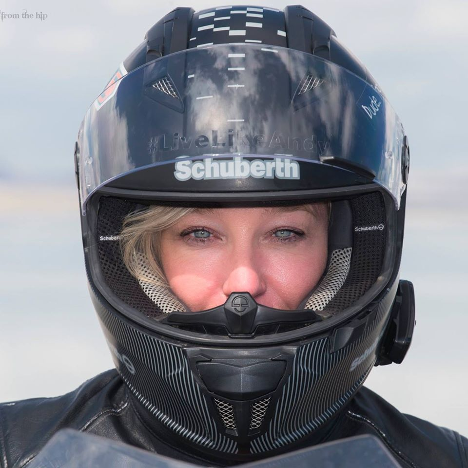 19-time motorcycle speed record holder erin sills sweeps the three