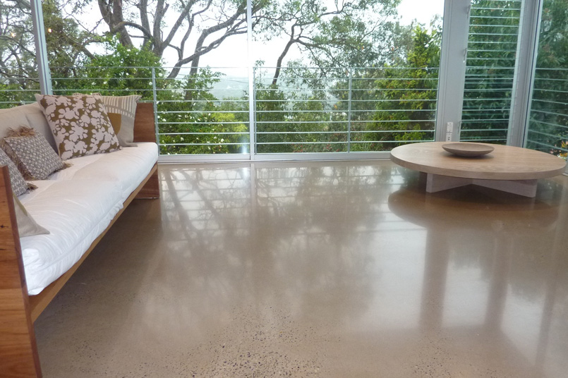 Polished concrete experts at ans coatings warns australian for Residential concrete floors