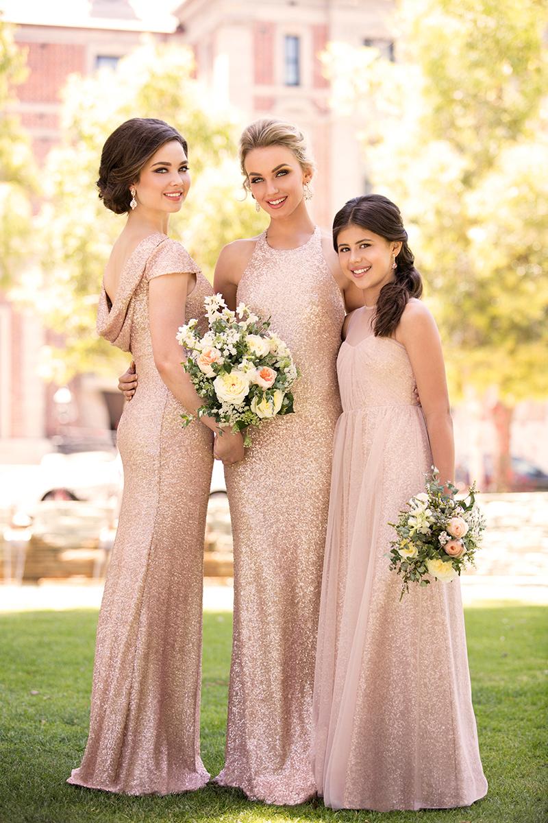 Sorella vita introduces new sequin bridesmaid dress color and high sorella vita tulle and sequin bridesmaid dresses ombrellifo Images