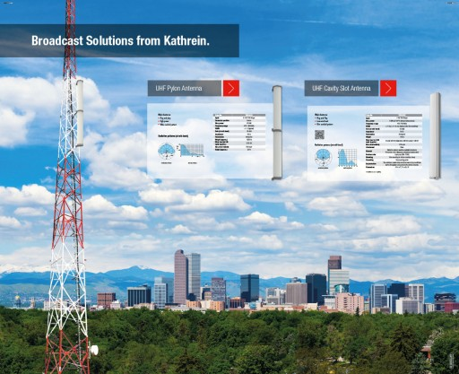 "Kathrein Announces ""Repack Ready"" Solution for Broadcasters at NAB 2017"
