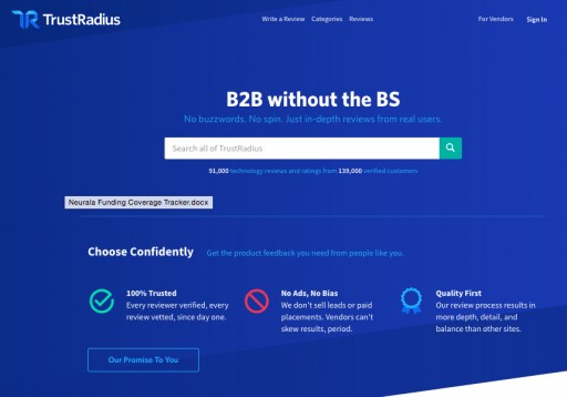 TrustRadius Raises $5.5M Series B to Lead B2B Customer Voice Revolution