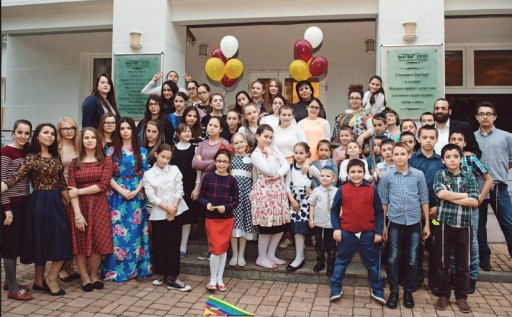 Active in the Communities: Lazar Finker and Finker-Frenkel Legacy Foundation Donate to Children's Home