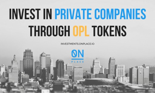 Become an Investor of Private Companies With Blockchain-Powered OnPlace Inc. Platform