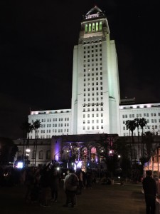 Los Angeles City Hall IDENTITY LA 2017 Music Festival