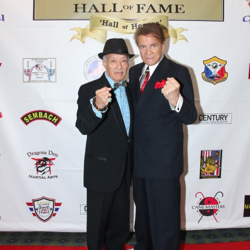 Aleong and Novak Inducted Into the USA Martial Arts Hall of Fame