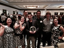 The Zebra Team at the Austin Chamber of Commerce Greater Austin Business Awards Following Innovation Win