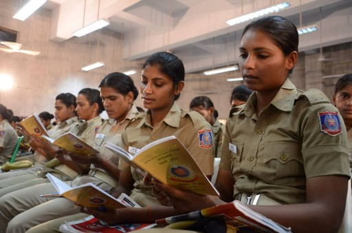 The Way to Happiness Reinforces Importance of Ethics, Values for New Delhi Police Trainees