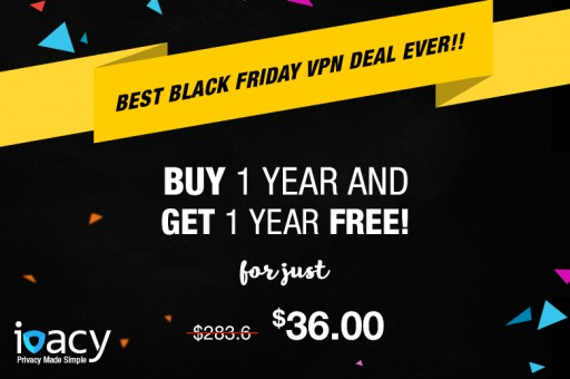 Ivacy Announces the Biggest Black Friday VPN Discount in the Industry