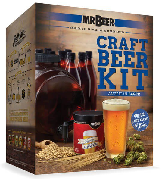 mr beer launches 12 new kits to simplify craft beer. Black Bedroom Furniture Sets. Home Design Ideas