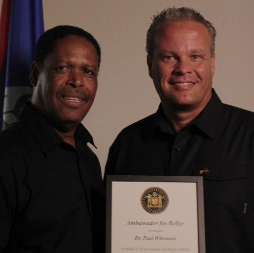 International Servants Missionary Named Belize's Honorary Humanitarian Ambassador