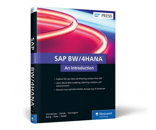 SAP PRESS Publishes Introductory Guide to SAP BW/4HANA Solution