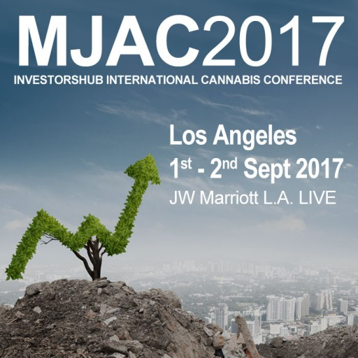 Cannabis Industry Heavyweights Confirmed for MJAC2017 InvestorsHub International Cannabis Conference