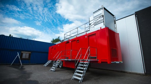 HAAGEN Has Completed a Mobile Fire Training Container for SDIS 25 in France